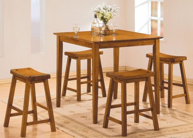 Saddleback Oak Dinette Set