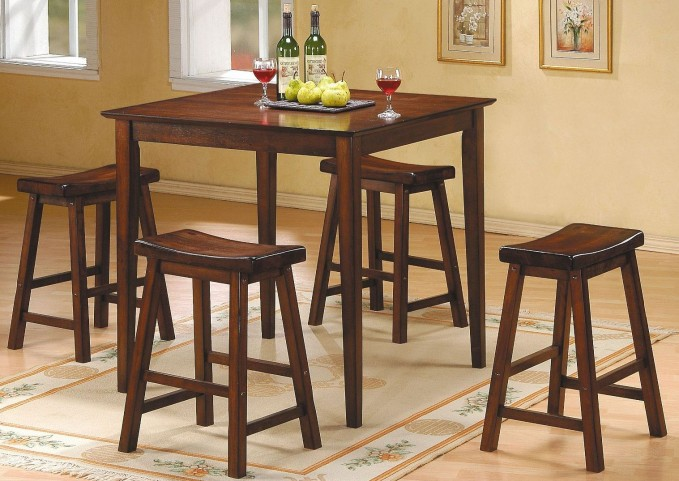 Saddleback Warm Cherry Dinette Set