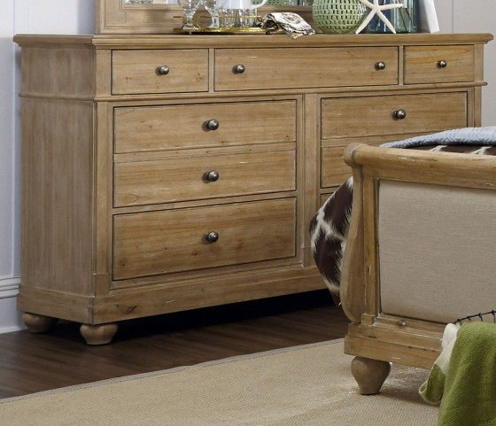 Harbor View Sand 7 Drawer Dresser