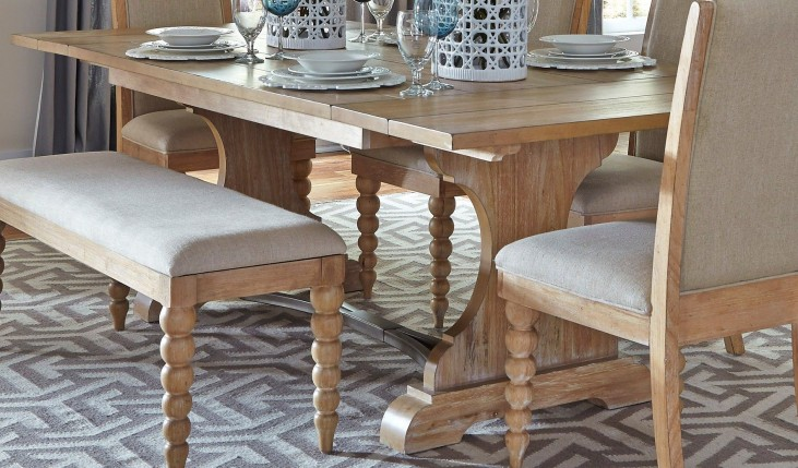Harbor View Trestle Table