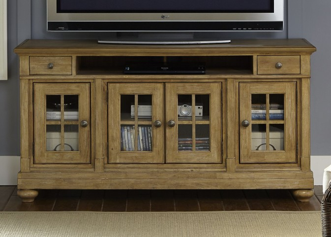 "Harbor View Sand 62"" TV Console"
