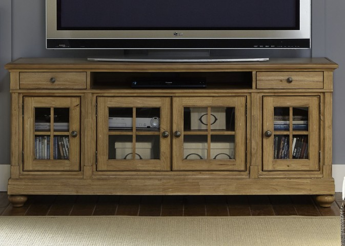 "Harbor View Sand 74"" TV Console"