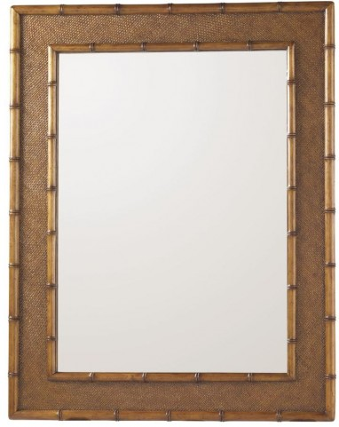 Island Estate Plantation Brown Palm Grove Mirror