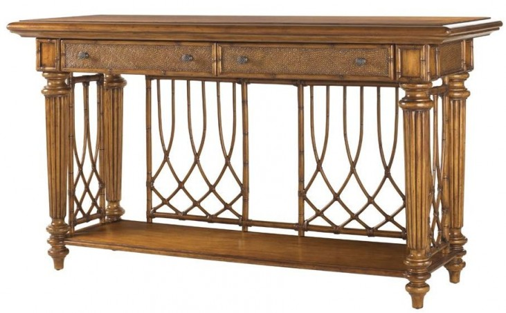 Island Estate Plantation Brown Nassau Sideboard