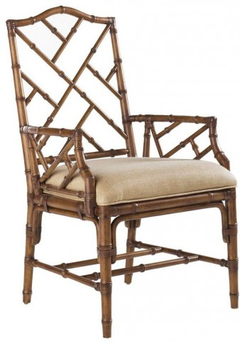 Island Estate Plantation Brown Ceylon Arm Chair