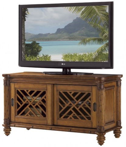 Island Estate Plantation Brown Grand Bank Media Console