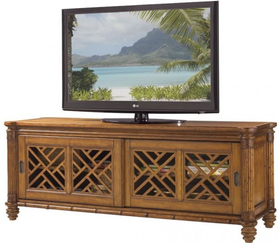 Island Estate Plantation Brown Nevis Media Console