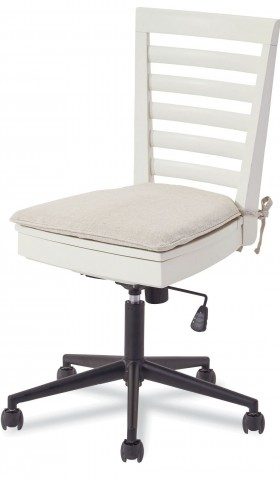 MyRoom Parchment and Gray Desk Chair