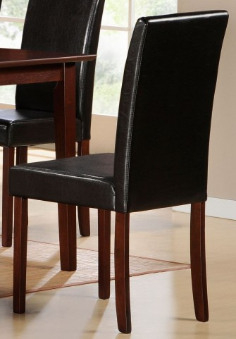 Weitzmenn Bi-Cast Vinyl Side Chair Set of 2