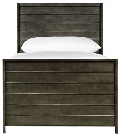 Varsity Jersey Metal Twin Panel Bed