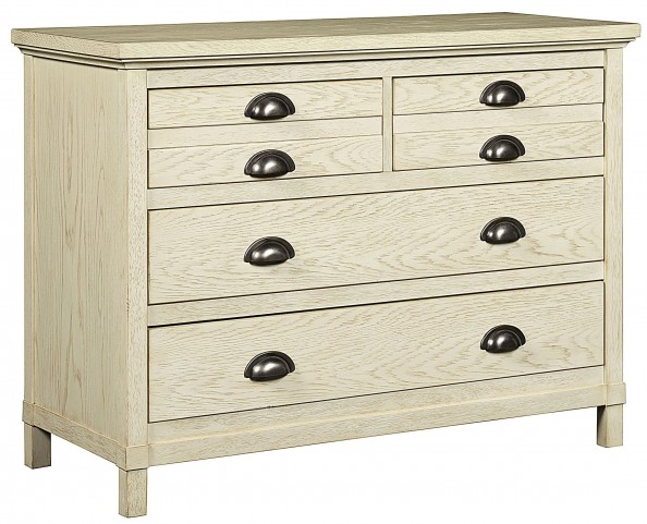 Driftwood Park Vanilla Oak Single Dresser