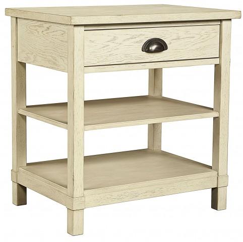 Driftwood Park Vanilla Oak Bedside Table