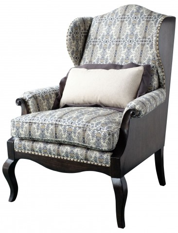 Empyrean Sky Exposed Wing Chair
