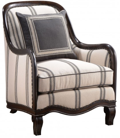 Empyrean Sky Carved Frame Chair