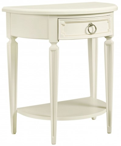 Clementine Court Frosting Bedside Table