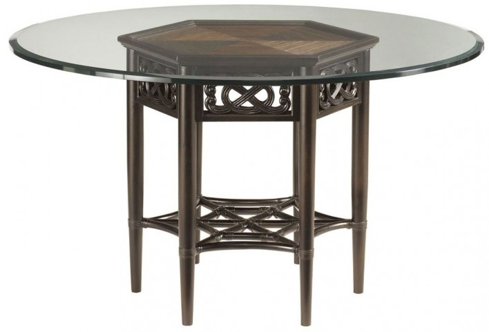 "Royal Kahala 54"" Sugar And Lace Round Dining Table"