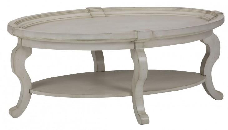 Sebastian Oval Cocktail Table