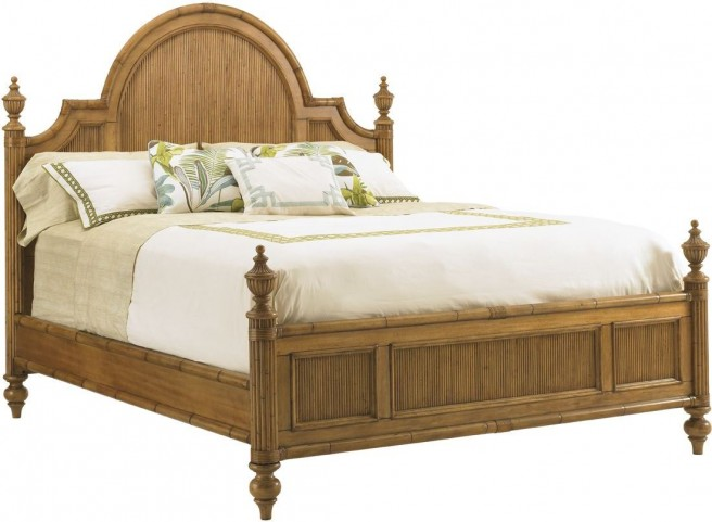 Beach House Belle Isle Queen Poster Bed
