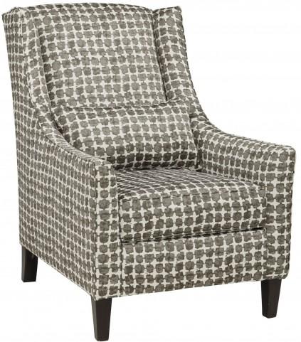 Lainier Walnut Accent Chair