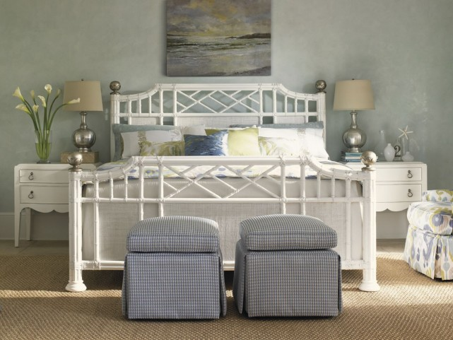 Ivory Key Pritchards Bay Panel Bedroom Set
