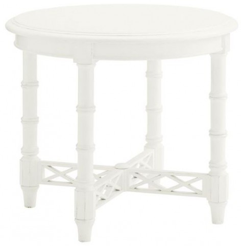 Ivory Key Edgehill Round Lamp Table