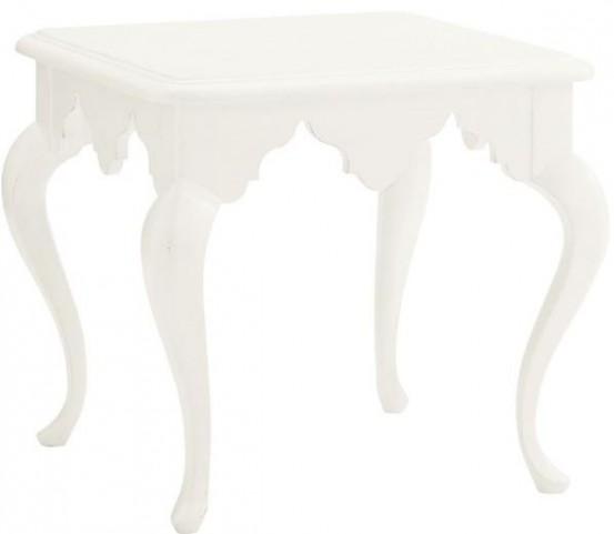 Ivory Key Cumberland Square Lamp Table