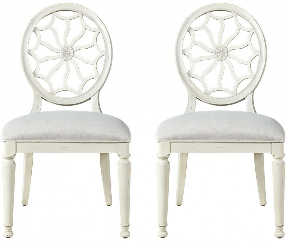 Sojourn Summer White Side Chair Set of 2