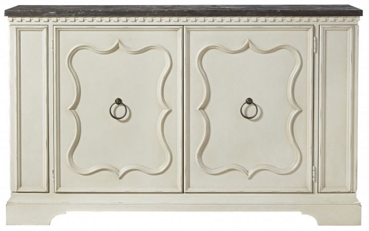 Sojourn Summer White Serving Credenza