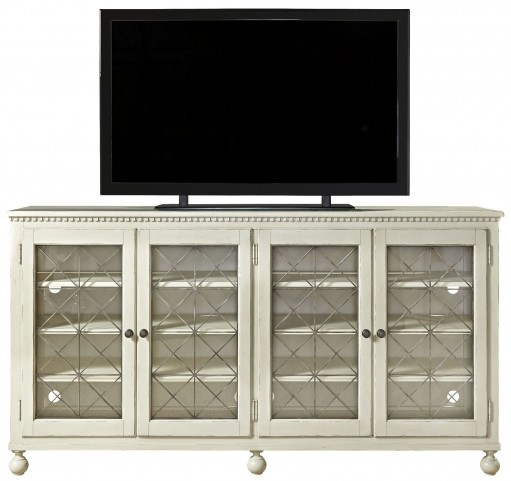 Sojourn Summer White Entertainment Console