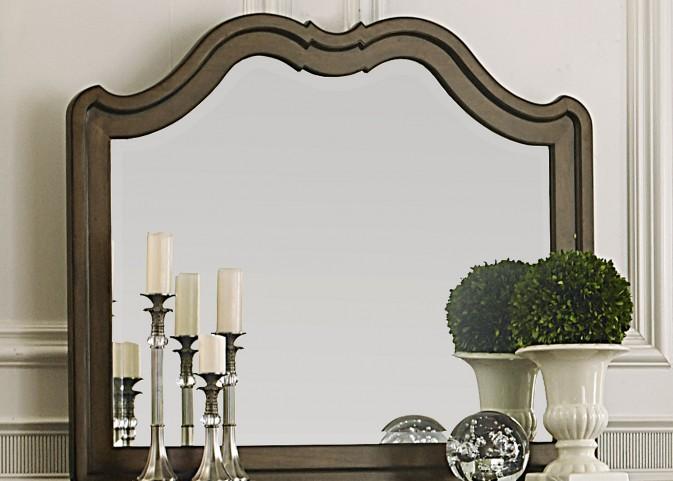 Cotswold Brown Landscape Mirror