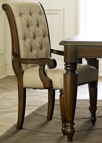 Cotswold Cinnamon Upholstered Arm Chair