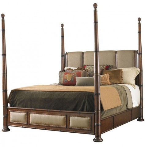 Landara Monarch Bay Queen Poster Bed