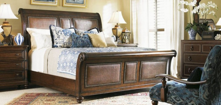 Landara Palmera Sleigh Bedroom Set