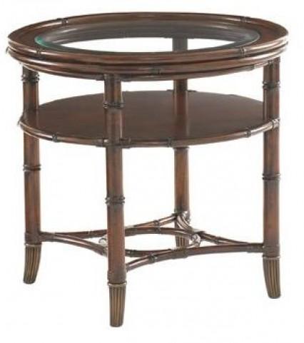 Landara Maricopa Round Lamp Table