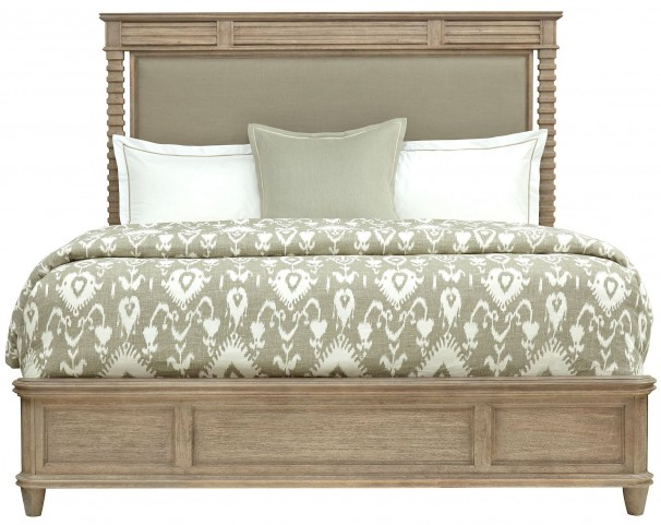 Hadley Rafter King Upholstered Platform Bed