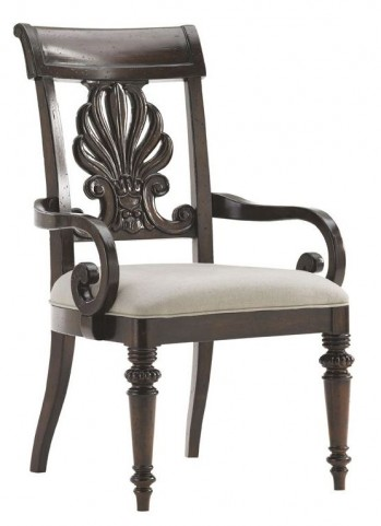 Island Traditions Windsor Chester Carved Arm Chair
