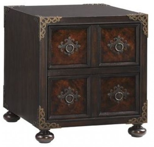 Island Traditions Windsor Bromwich Chairside Chest