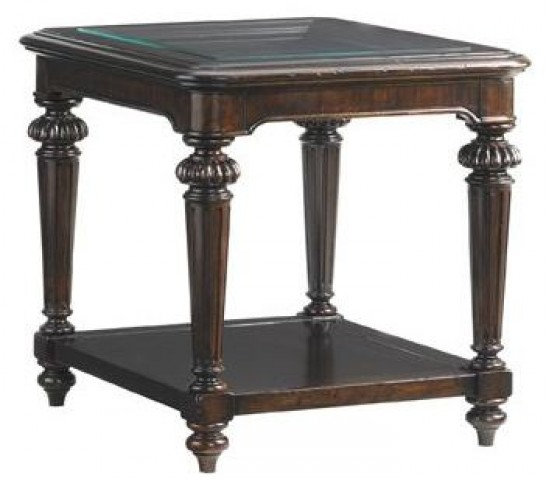Island Traditions Windsor Sheffield Rectangular End Table