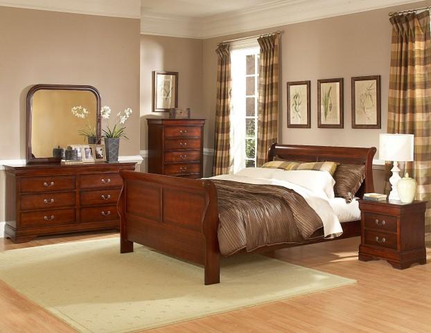 Chateau Brown Bedroom Set