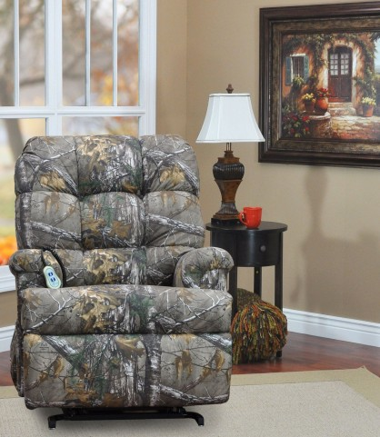 Real Tree Xtra Camouflage Wall-a-Way Reclining Lift Chair