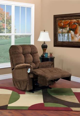 5500 Series Wall-a-Way Reclining Lift Chair - Vista - Earth