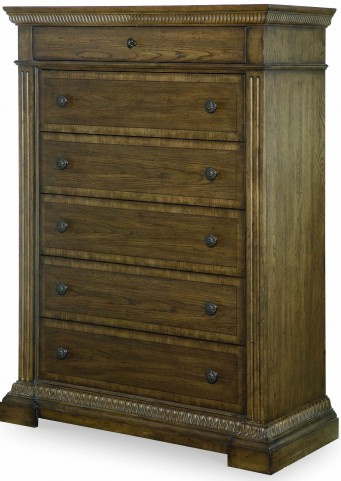 Renaissance Waxed Oak 6 Drawer Chest