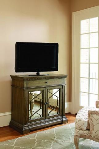 Renaissance Waxed Oak 2 Door Media Chest