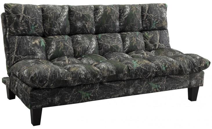 Woodland Camouflage Twill Sofa