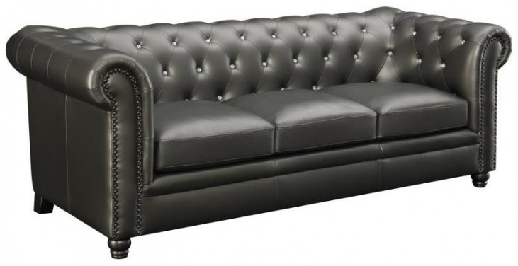 Roy Gunmetal Sofa