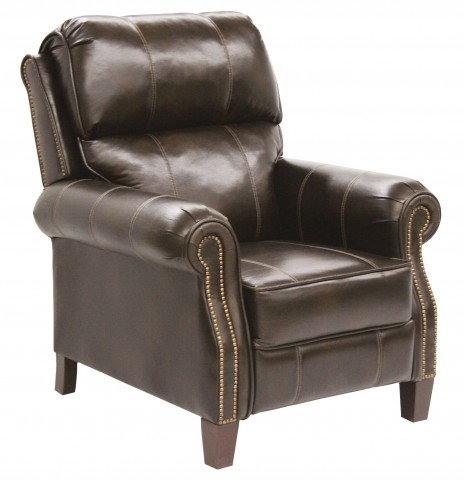 Frazier Java Bonded Leather Reclining Chair