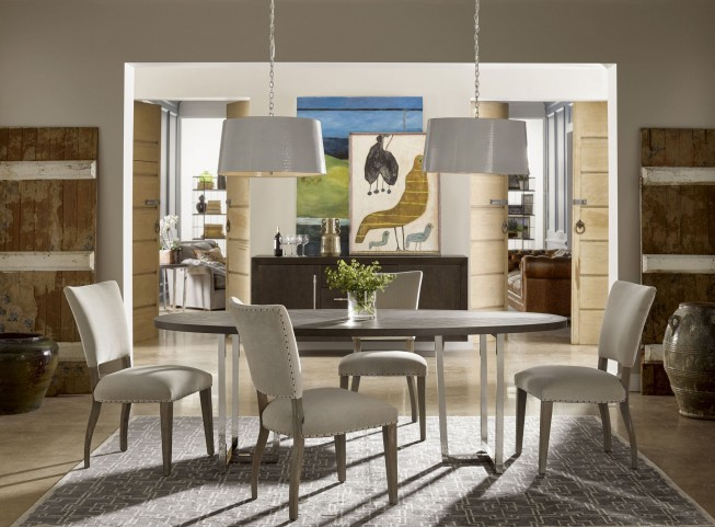Curated Brownstone Dining Room Set