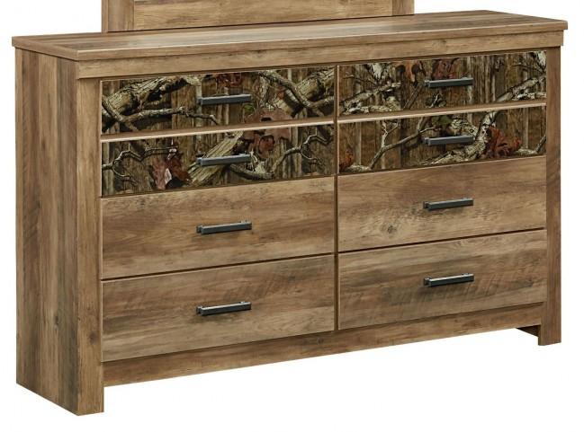Habitat Rustic Buckskin 6 Drawer Dresser