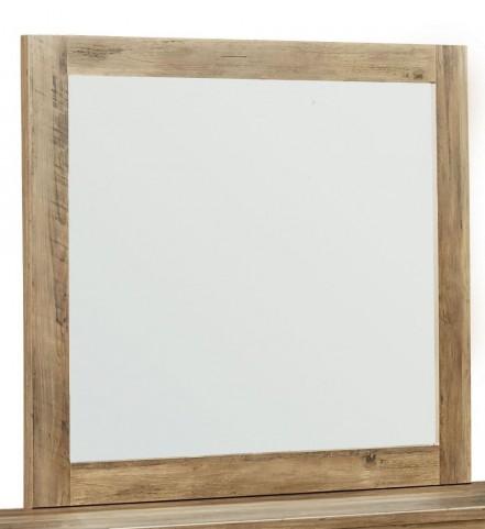 Habitat Rustic Buckskin Mirror