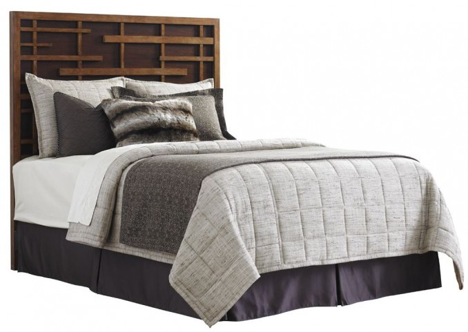 Island Fusion Shanghai Queen Panel Bed